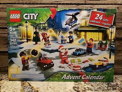 Lego City 60268 Advent Calendar 2020 - New