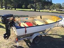 Boat Savage Gull 12 foot Tinnie Umina Beach Gosford Area Preview
