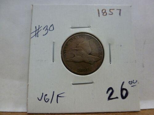 1857 Flying Eagle Cent #30