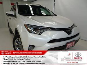 2017 Toyota RAV4 Limited ACCIDENT FREE! | TOYOTA CERTIFIED |...