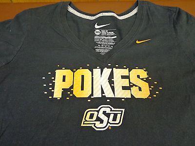 Oklahoma State Cowboys  Nike Womens  T Shirt  Pokes Osu 2Xl Xxl   L3