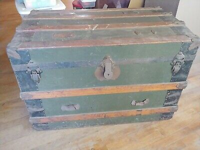 Chests Trunks Small Antique Steamer Trunk Vatican
