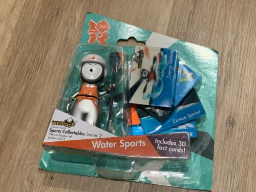 Official London 2012 Olympic Mascot Wenlock Collectable Water Sports Figures New