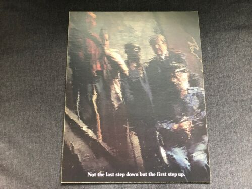 Vintage ADVERTISING PROOF Salvation Army Not Last Step Down J Walter Thompson