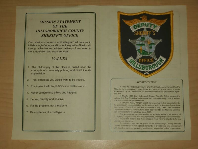 Hillsborough County Sheriff