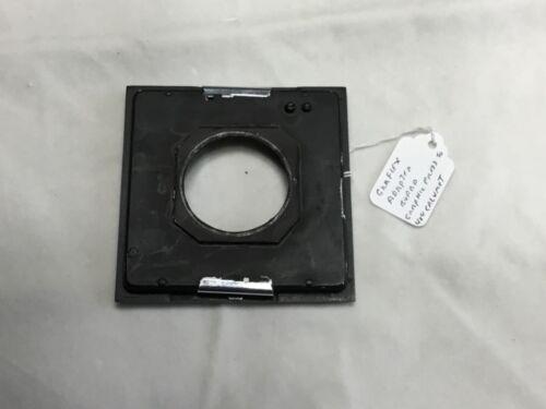 Graflex Adapter Board Graphic Press to 4X4 Calumet