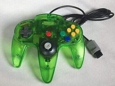 N64 Controller Gamepad Joystick for Nintendo 64 Video Game Console Jungle Green