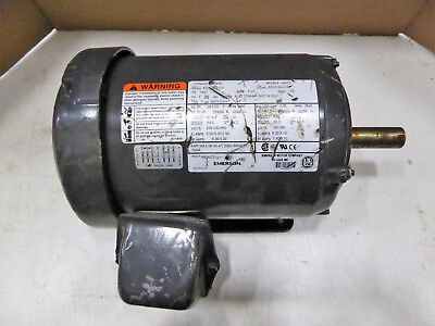 Emerson Us Motors S422 Phase 3 3485 Rpm 2 Hp