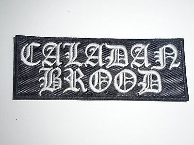CALADAN BROOD BLACK METAL EMBROIDERED PATCH