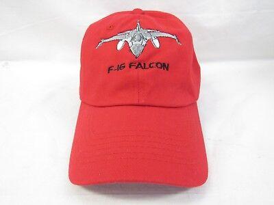 GCA AVIATION PLANE F16 FALCON CAP RED HAT