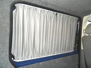 VW T5 Transporter Blackout Curtain Set 3 Windows, Campervan Curtains Tailgate