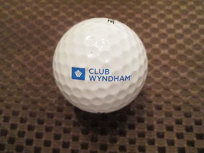 Logo Golf Ball Club Wyndham     Hotels  Resorts