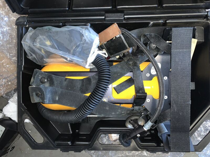 MSA SCBA (Harness/Regulatr/Tank) + Mask And Case