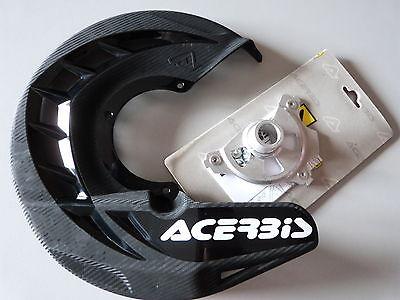 KTM SX EXC Bremsscheiben Schutz von Acerbis Spider inkl. Anbau Kit