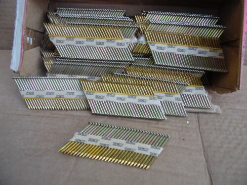 """Senco 2""""X.113 Framing Nails Galvanized Weatherex II Smooth Shank 6d 1000 Count"""