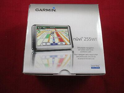 Garmin nuvi 255W  Automotive Mountable GPS Navigator w/ Car Charger  & -