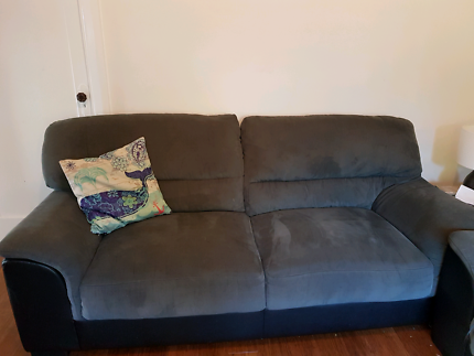 2 x 3 seater sofas  $180 for both