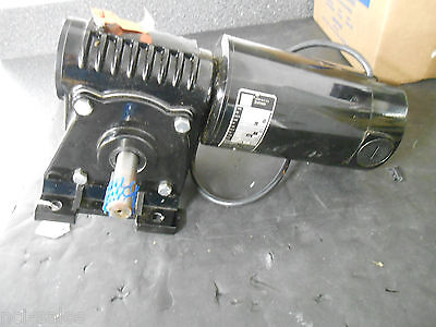 BODINE ELECTRIC CO. 4207BEPH-5H 1/3 HP 139 RPM 18:1 RATIO RIGHT ANGLE GEARMOTOR