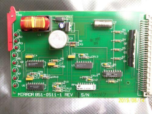 ROFIN SINAR MIRROR 851-0511-1 CIRCUIT BOARD