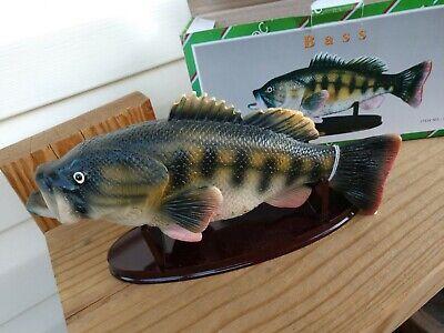 Unpainted Largemouth Bass Fish Hat Pin Brand New
