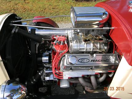1930 A model hotrod