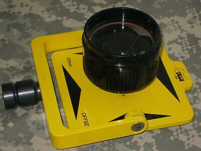 Seco Single Target Prism Yellow - Tilting Assembly For Surveying In Case