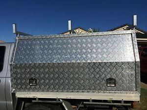 Aluminium checker plate canopy Doolandella Brisbane South West Preview