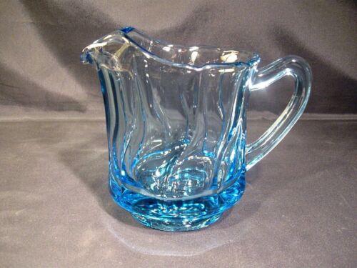 Fostoria Jamestown Blue 40 Ounce Glass Pitcher