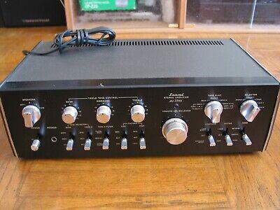 SANSUI AU-7700Integrated Stereo Amplifier Audiophile Vintage Amp Good Working