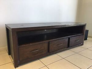 Solid Timber TV Unit Bayview Darwin City Preview