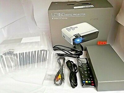 Apeman LC350 Digital projector, White, portable Updated LCD Technology