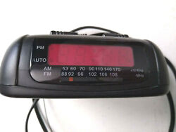 Sunbeam AM / FM Clock Radio Model 89014