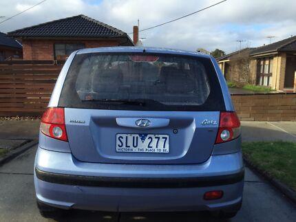 2003 Hyundai Getz Hatchback, in very good condition Melbourne Region Preview