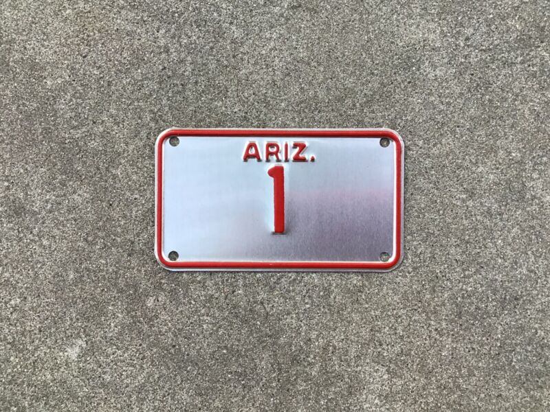 ARIZONA - MOTORCYCLE - LICENSE PLATE