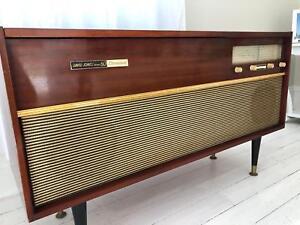 1960s David Jones Stereophonic Gramophone Record Player Radio