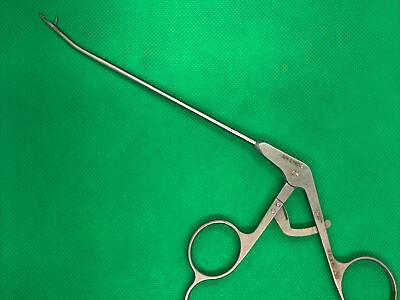 Arthrex Surgical Ar-2167-2 Arthroscopy Retriever Orthopedic Forceps Up Curved