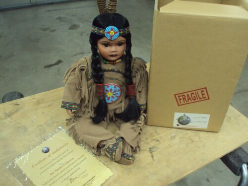 Timeless Collection PRINCESS RAIN Indian Doll Limited Edition Porcelain by Nanci
