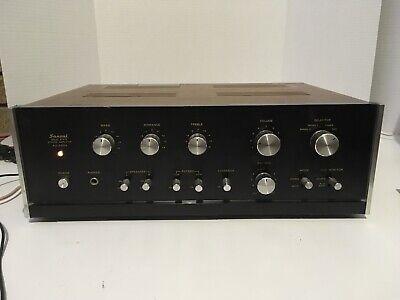 Sansui AU-555A Integrated Amplifier Wood Case