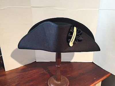 Navy Bicorn Hat Made In USA