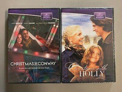 Christmas With Holly + Christmas Conway DVD HALLMARK  New Free Ship  ()