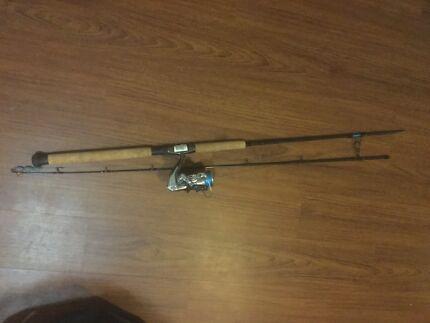 Shimano sonic pro rod+shimano reel