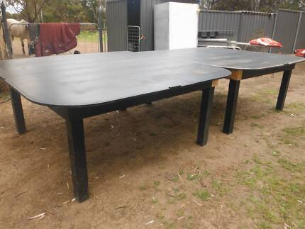 Large table great for outdoor entertaining or racing car track Two Wells Mallala Area Preview