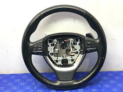 2013 - 2014 BMW 550I F10 HEATED STEERING WHEEL W/ PADDLE SHIFTER *NO LEFT PADDLE