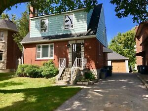 South Etobicoke bungalow for rent: bloor/shaver, 5 min to TTC