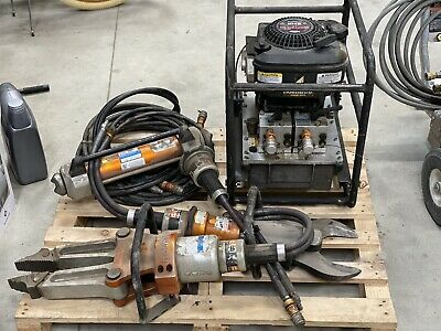 Hydraulic Holmatro Rescue Tool Set Jaws Of Life Make Offer