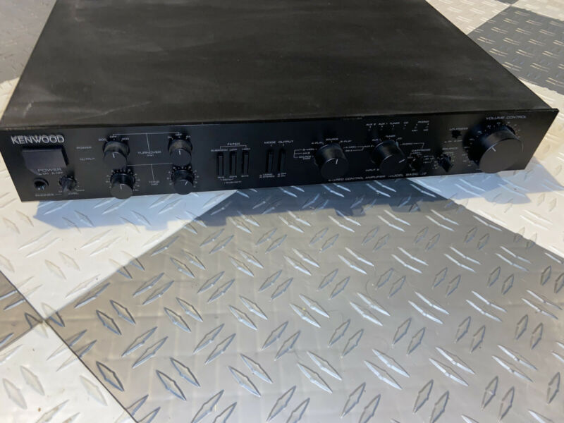 Kenwood BASIC C2 Stereo Preamplifier used