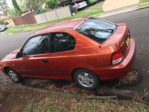 Hyundai Accent ALMOST 1 YEAR REGO Quakers Hill Blacktown Area Preview