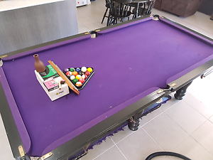 7ft Slate top pub size pool table Pimpama Gold Coast North Preview
