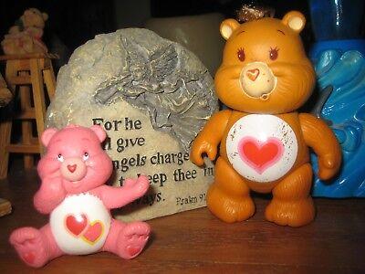 Care Bear Figure Figurines Tenderheart and love a lot bears