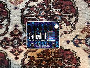 Electro Harmonix EHX Cathedral Stereo Reverb Mint w/box.